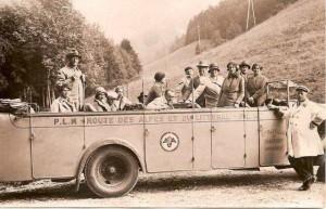 foto busreis 1928 naar Alpen (v.Schaik) -22