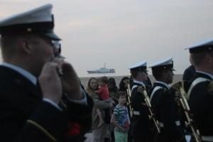 het schip van de kustwacht