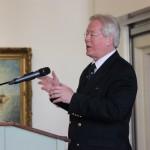 Henk Grootveld houdt een inleidende speech