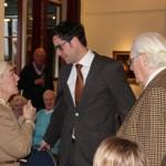 Karten Klein hoorde bij de delegatie
